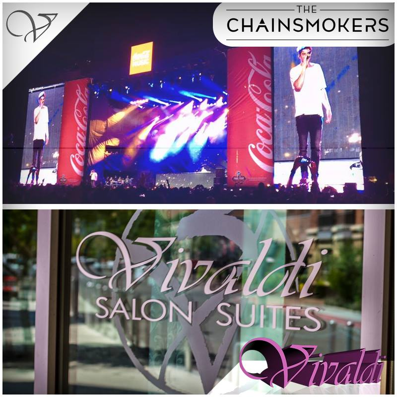 Chainsmokers Giveaway on Facebook by Vivaldi Salon Suites