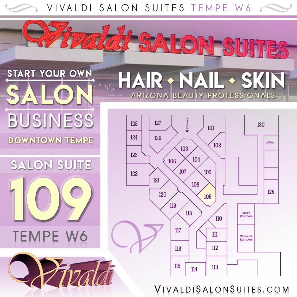Open suite in Tempe! Start your own Salon Business!