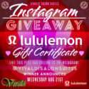 Win a LuLulemon giveaway from Vivaldi Salon Suites