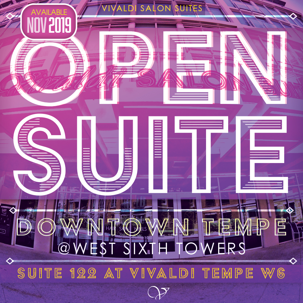 Tempe Open Suite at Vivaldi Salon Suites