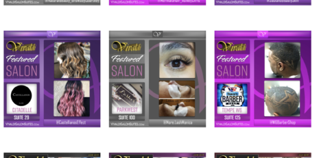 Vivaldi Featured Salon Suites